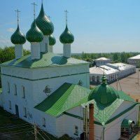 Троицкий собор. Вид с колокольни :: Alexandr Яковлев