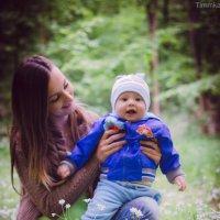 Счастье для мамы - улыбка младенца, что месяцами носила под сердцем. Счастье её не изменить годами. :: Ярина Шевченко