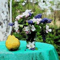 Натюрморт с грушей :: Katerina Pustovoit