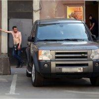 Опять ключи в машине зАпер ...  :-)) :: Михаил Палей