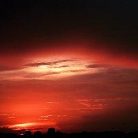 Закат, как море :: Анастасия Ковальчик