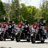 Полицейские Индианаполиса открывают парад в День Памяти - Memorial Day :: Яков Геллер