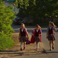 Школьницы :: Татьяна Копосова