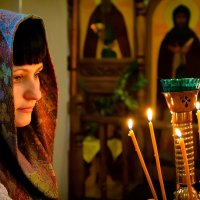 В молитве за сына :: Александр Кравченко