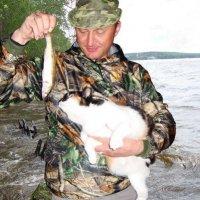 С Муськой на  рыбалке... :: BEk-AS 62