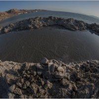 """Мертвое Море """"рыбьим взглядом"""" :: Борис Аарон"""