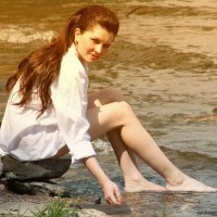 Мыла Маруся белые ноги... :: игорь козельцев