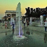 вечер с фонтанами :: Александр Корчемный
