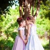 Соня и Алена :: Ирина Михель
