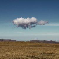 Одинокое облако :: Владимир Богославцев(ua6hvk)