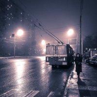 Последний тролллейбус. :: Юрий Савченко