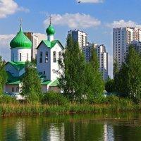 Церковь преподобного Сергия Радонежского . :: Александр Лейкум