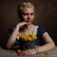 портрет с одуванчиком :: Олег Белоус