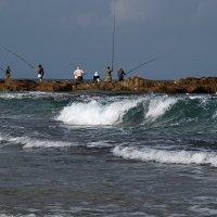 рыбаки :: evgeni vaizer