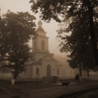 утро туманное :: Людмила Селегенева