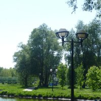 Парк отдыха. :: НАДЕЖДА КЛАДЧИХИНА