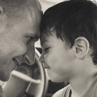 Отец+сын=... :: Наташа С