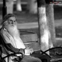 Седина в бороду (2, ч\б) :: Валерий Викторович РОГАНОВ-АРЫССКИЙ