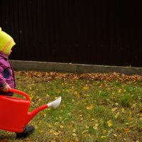 Юный садовник :: Екатерина Куликова