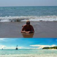 Девушка и море :: Геннадий Клевцов