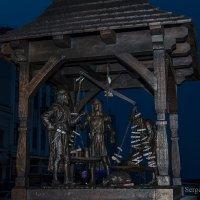 Скульптура Городские весы у Ратуши :: Сергей Хомич