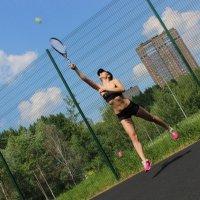 На спорте :: Nastya Berdyko