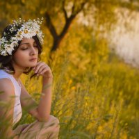 Ромашковое лето :: Накия Бахтеева