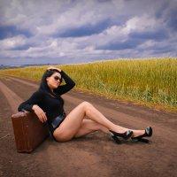 Тяжела дорога бескрайних полей :: Nataliya Oleinik