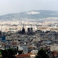 Барселона,вид с горы :: Ирина Томина