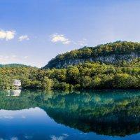 Кабардино-Балкария. Голубое озеро вблизи Нальчика :: Сергей Кириллович Виноградов