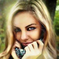 Потому что всё всегда начинается со взгляда...... :: Ирина Кисенкова