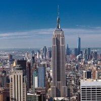 Панорама Манхэттена с Top Of The Rocks :: Вадим Лячиков