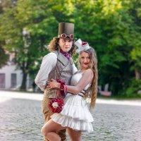 Свадьба в стиле стим-панк :: Виктор