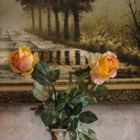 Ваза с цветами на пианино :: Минихан Сафин