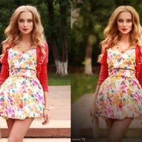 выпускница (до и после) :: Veronika G