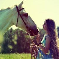 Любовь и лошади :: Анна Раневская