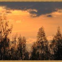 Оранжевая песня заката :: Валерий Викторович РОГАНОВ-АРЫССКИЙ