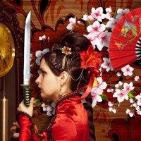 Женщина с мечём :: Сергей Новиков