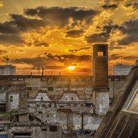 Про город и закат :: Алексей Соминский