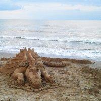 На берегу пустынных волн... :: Александр