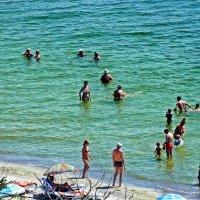 Лето, пляж :: Александр Корчемный