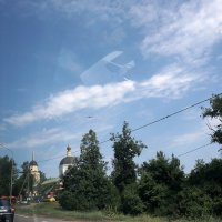 На земле и в облаках :: Татьяна Симонова