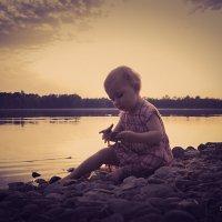 А на озере закат..) :: Дмитрий Мантуш
