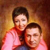 Портрет семейной пары :: Ирина Kачевская