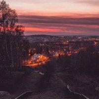 Город засыпает :: Андрей Хахалов