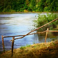 на берегу реки :: Olga Zhukova