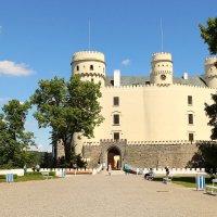 замок Глубока над Влтавой  в Праге :: Лана Lana
