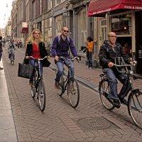 Двухколесный Амстердам :: Лидия Цапко