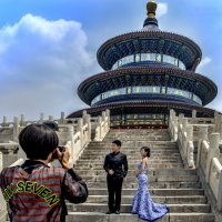Китай. Пекин. Молодожёны. :: Константин Василец
