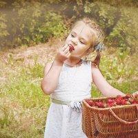 Клубничный рай :: Nina Zaytseva
